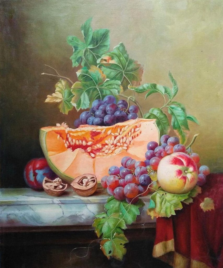 Тыква и фрукты
