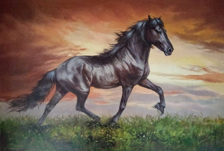 Скачущий конь