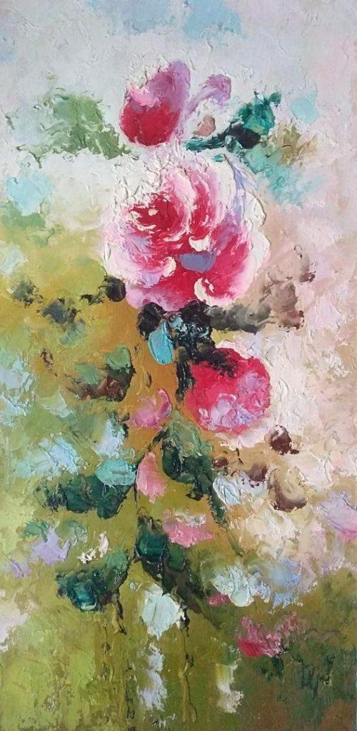 Стилизованная роза